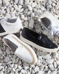 Vince - White Bates Espadrille Skate Sneaker - Lyst
