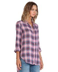 CP Shades - Blue Carino Plaid Shirt - Lyst