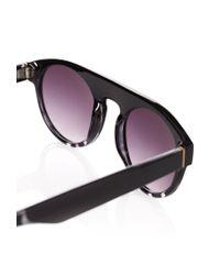 Forever 21 - Black Gradated Animal Print Sunglasses for Men - Lyst