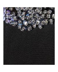 3.1 Phillip Lim - Black Stretch Silk Dress With Embellished Collar - Lyst
