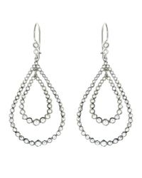 Andrea Fohrman | Metallic Rose Cut Diamond Teardrop Earring | Lyst