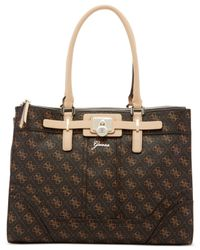 Guess | Brown Greyson Status Carryall | Lyst