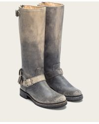 Frye | Gray Veronica Back Zip | Lyst