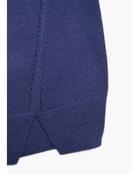Mango | Blue Fine-knit Sweater | Lyst