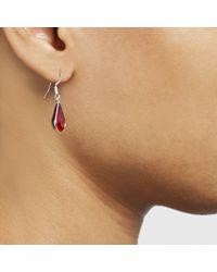 John Lewis | Purple Teardrop Pendant And Earrings Set | Lyst