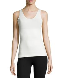 Spanx | Natural In & Out Scoop-neck Tank | Lyst