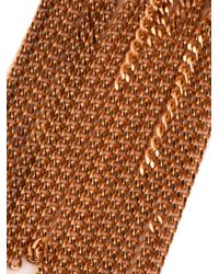 Carolina Bucci   Metallic 'lucky' 18kt White And Pink Gold Virtue Bracelet   Lyst