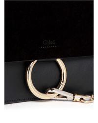 Chloé | Faye Mini Bag Black | Lyst