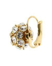 kate spade new york | Metallic Lady Marmalade Single Ball Earrings | Lyst