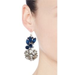 Lulu Frost | Blue 100 Year Vintage Earrings | Lyst