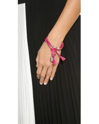 Aurelie Bidermann - Pink Takayama Bracelet - Lyst