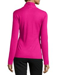 Natori - Pink Riza Crisscross-front Sweater - Lyst
