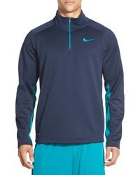 Nike | Green 'ko' Therma-fit Quarter Zip Training Jacket for Men | Lyst