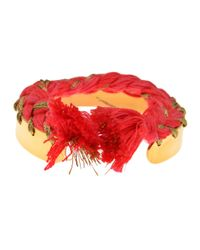 Aurelie Bidermann | Pink 'copacabana' Bracelet | Lyst