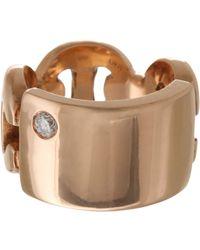 Hoorsenbuhs | Pink Id Plate Ring | Lyst