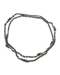 Theo Fennell | Black Alias Beastie Ram Necklace | Lyst