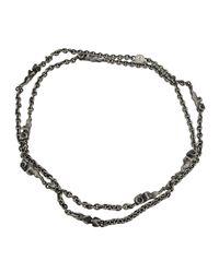 Theo Fennell - Black Alias Beastie Ram Necklace - Lyst