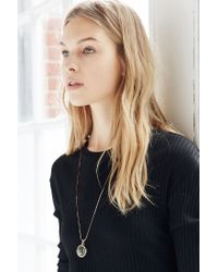 Urban Outfitters - Metallic Galaxy Globe Pendant Necklace - Lyst