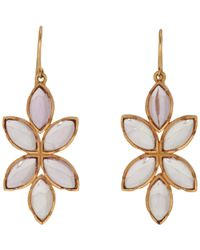 Irene Neuwirth | Multicolor Floral Drop Earrings | Lyst