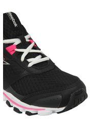 Reebok - Black Hexaffect Running Sneakers for Men - Lyst