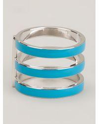 Repossi | Blue 'berbère' Enamel Ring | Lyst