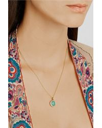 Ippolita - Metallic Mini Lollipop 18-Karat Gold, Turquoise And Diamond Necklace - Lyst