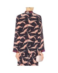 Valentino - Multicolor Printed Silk Shirt - Lyst