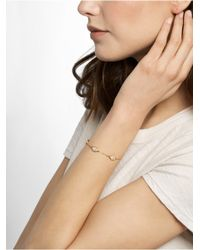 BaubleBar | Metallic Pavé Triple Hamsa Bracelet | Lyst