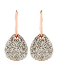 Monica Vinader | Metallic Alma Drop Earrings | Lyst