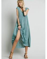 Free People | Green Fp Beach Womens Always Dreamin Dress | Lyst