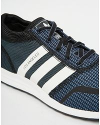 Adidas Originals - Blue Los Angeles Trainers S42027 for Men - Lyst