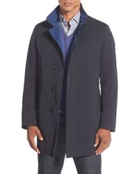 Sanyo Blue 'getaway' Raincoat for men