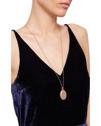 Monica Rich Kosann | Metallic 18k Rose Gold 4-image Oval Locket With Diamonds | Lyst