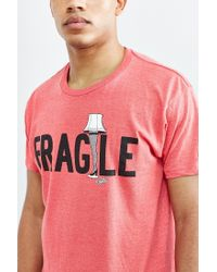 Urban Outfitters - Red A Christmas Story Fragile Tee for Men - Lyst