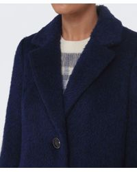 Creenstone - Blue Estina Wool Coat - Lyst