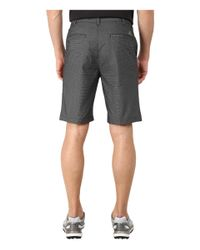 Adidas | Black Stretch Horizontal Texture Stripe Shorts for Men | Lyst