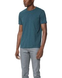 Theory | Blue Dekker Atmos Tee for Men | Lyst