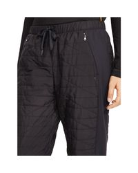Polo Ralph Lauren | Black Quilted Jogger Pant | Lyst