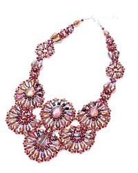 Nakamol | Purple Lustre Necklace | Lyst