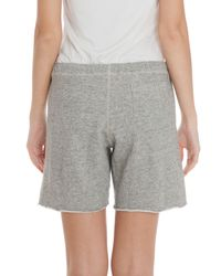 CLU - Gray Basic Sweat Shorts - Lyst