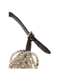 Jean-Francois Mimilla | Black Beaded Necklace | Lyst
