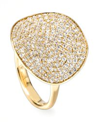 Ippolita | Metallic Stardust Wavy Disc Diamond Ring | Lyst