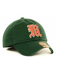47 Brand - Green Miami Hurricanes Ncaa '47 Franchise Cap for Men - Lyst