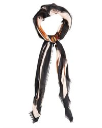 Givenchy - Multicolor Bambi-Print Silk-Blend Scarf - Lyst