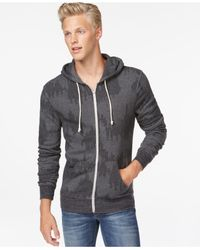 Alternative Apparel | Gray Rocky Plaid Hoodie for Men | Lyst