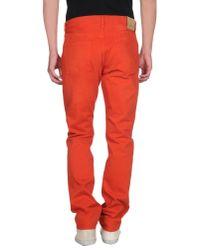 J Brand - Brown Denim Trousers for Men - Lyst