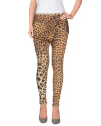 Just Cavalli - Natural Casual Trouser - Lyst