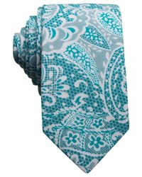 Original Penguin - Blue Dupont Print Skinny Tie for Men - Lyst