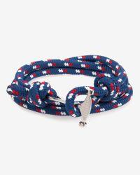 Ted Baker | Blue Rope And Metal Bracelet for Men | Lyst