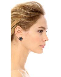 Lulu Frost - Nicandra Stud Earrings - Blue/gold - Lyst